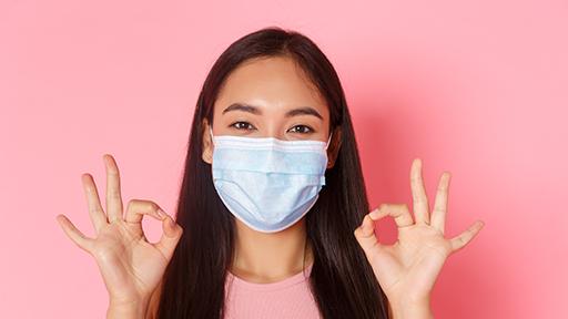 Mascherina e problemi alla pelle